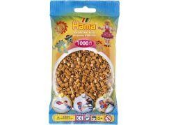 Hama H207-21 Midi Světle hnědé korálky 1000 ks