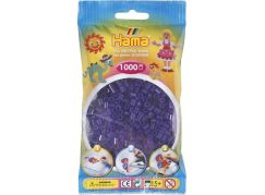 Hama H207-24 Midi Průhledné fialové korálky 1000 ks