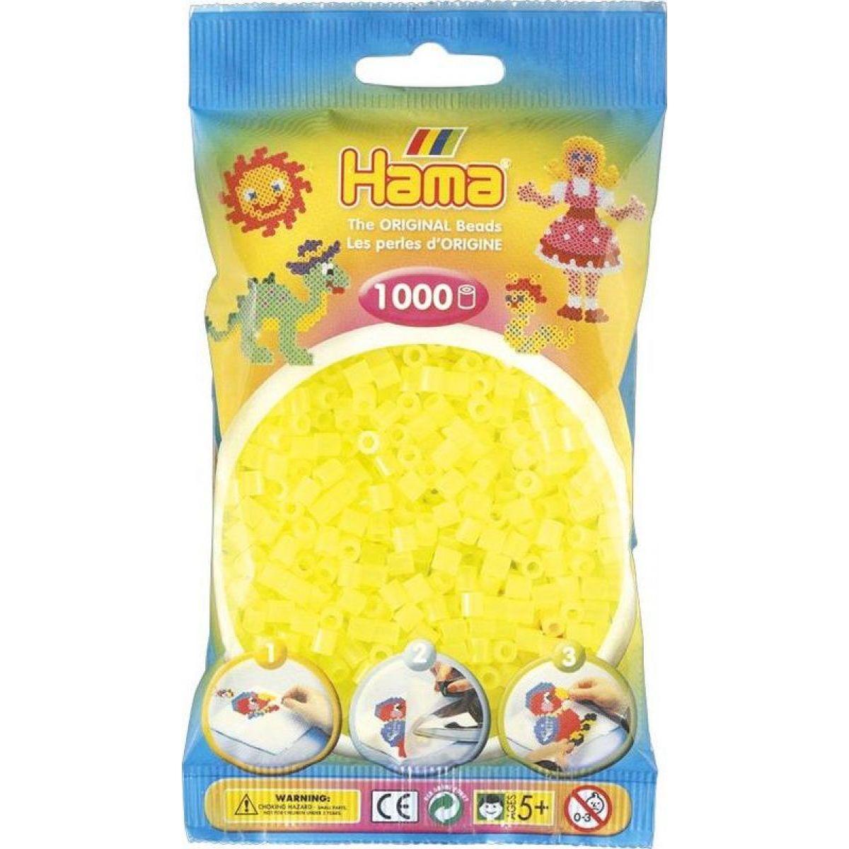 Hama H207-34 Midi Neonové žluté 1000 ks