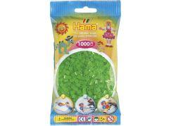 Hama H207-37 Midi Neonové zelené korálky