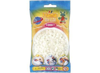 Hama H207-55 Midi korálky svíticí zelené 1000ks