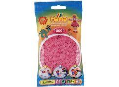 Hama H207-72 Midi Průhledné růžové korálky 1000 ks