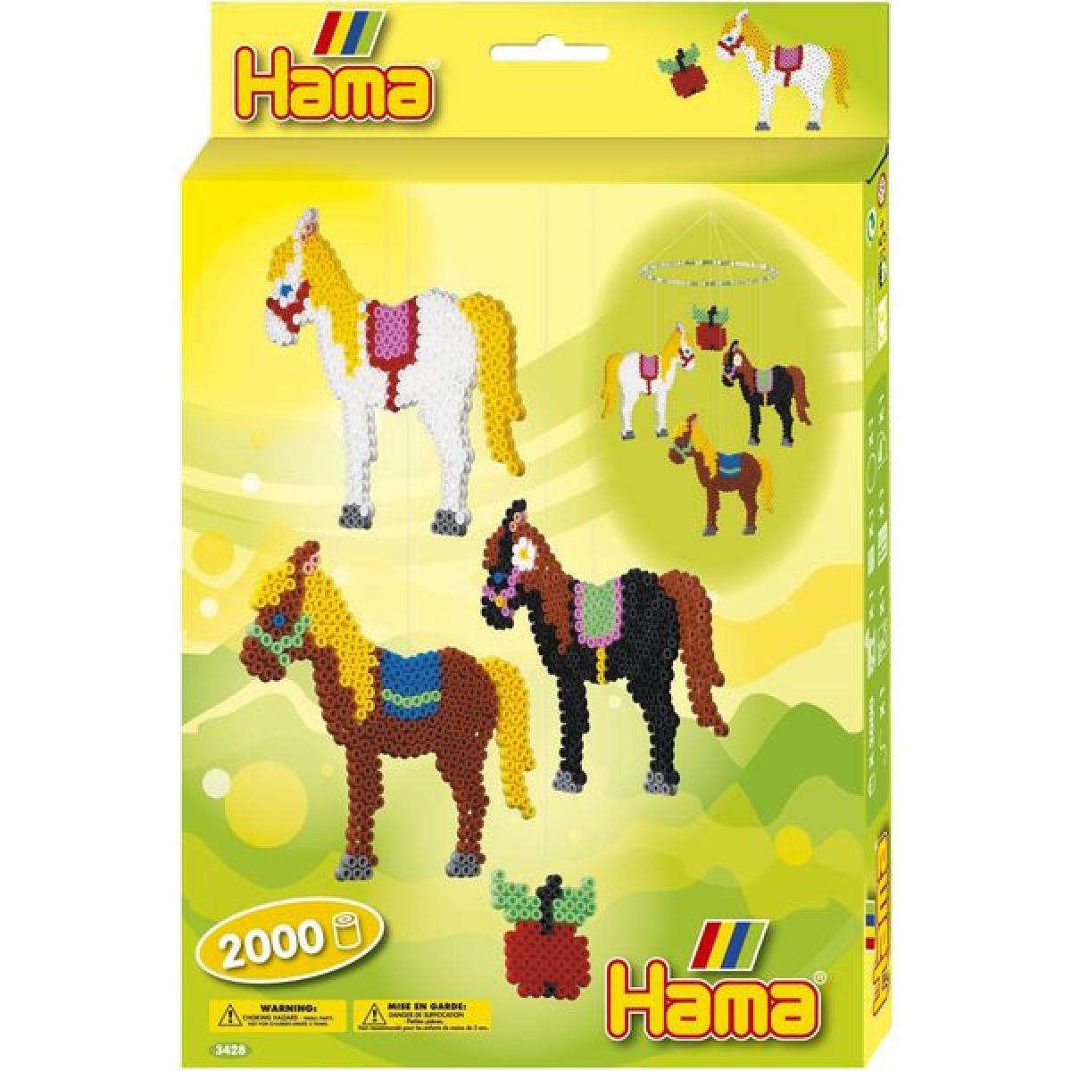 Hama H3428 Midi Koně se závěsným kroužkem