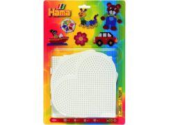 Hama H4552 Podložky srdce, kruh, čtverec a šestiúhelník Midi