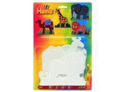Hama H4554 Midi podložky Slon, Žirafa, Velbloud a Lev