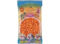 Hama Midi Korálky světle oranžová 1000 ks