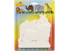 Hama Midi Podložky slon, žirafa, lev a velbloud