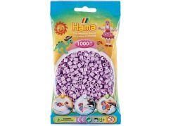 HAMA Pastelově světle fialové korálky 1000 ks MIDI