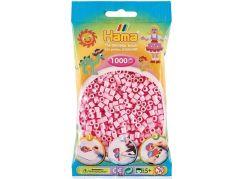 HAMA Pastelově světle růžové korálky 1000 ks MIDI