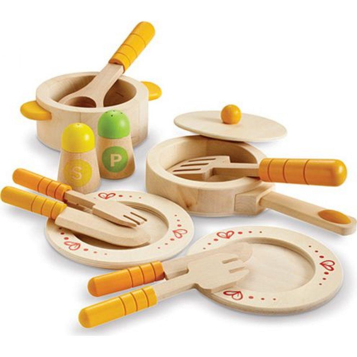 Hape Kuchyňský startovací set s nádobím