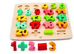 Hape Puzzle s číslicemi
