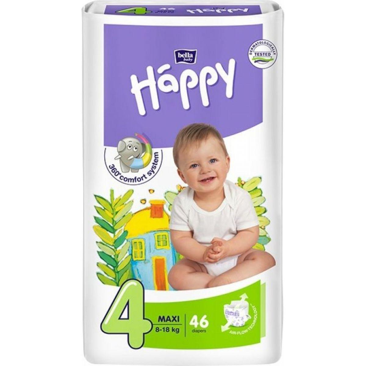 Happy plenky Maxi 46 ks