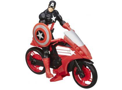 Hasbro Avengers Akční figurka s novým vozem 30cm - Captain America