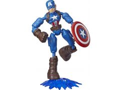 Hasbro Avengers figurka Bend and Flex 15 cm Captain America