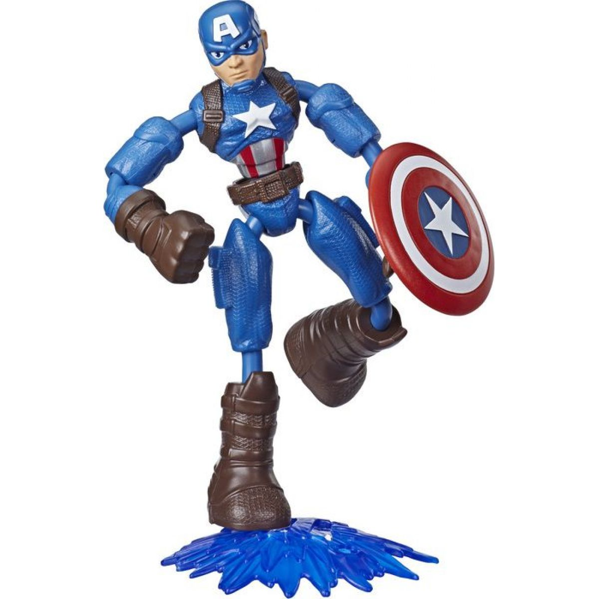 Hasbro Avengers figurka Bend and Flex 15 cm Captain America