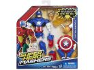 Hasbro Avengers Super Hero Mashers Figurka s příslušenstvím - Captain America 2