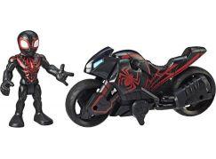 Hasbro Avengers Super Heroes figurka a motorka Kid Arachnid