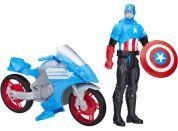 Hasbro Avengers Titan figurka s vozidlem Kapitán Amerika