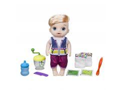 Hasbro Baby Alive Blonďatý chlapec s mixérem