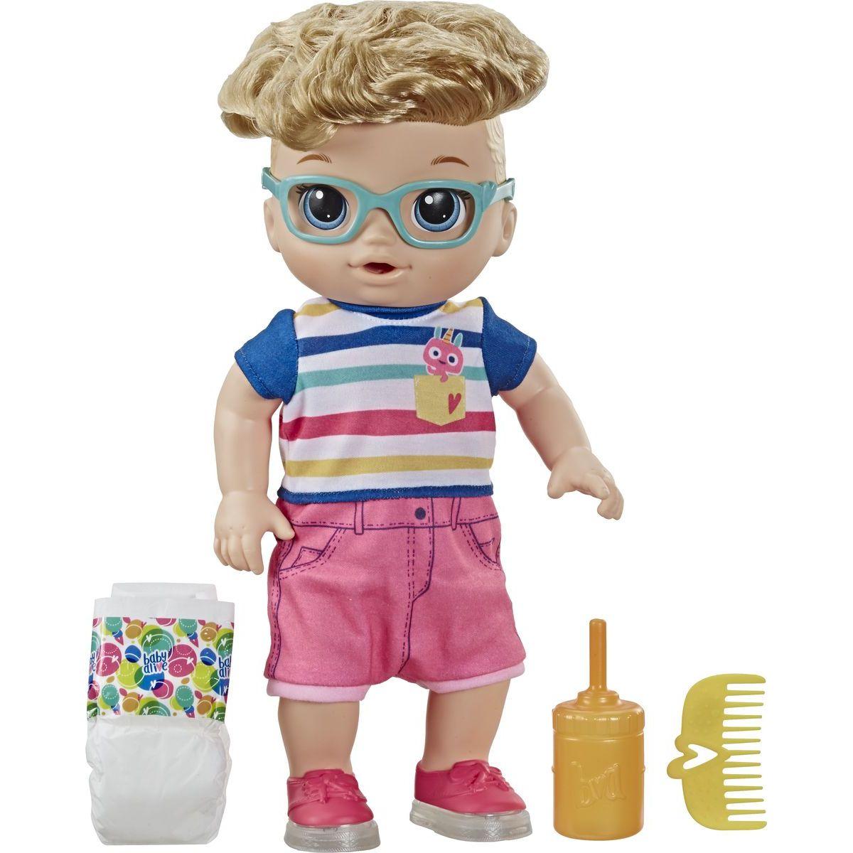 Hasbro Baby Alive Chodící panenka kluk