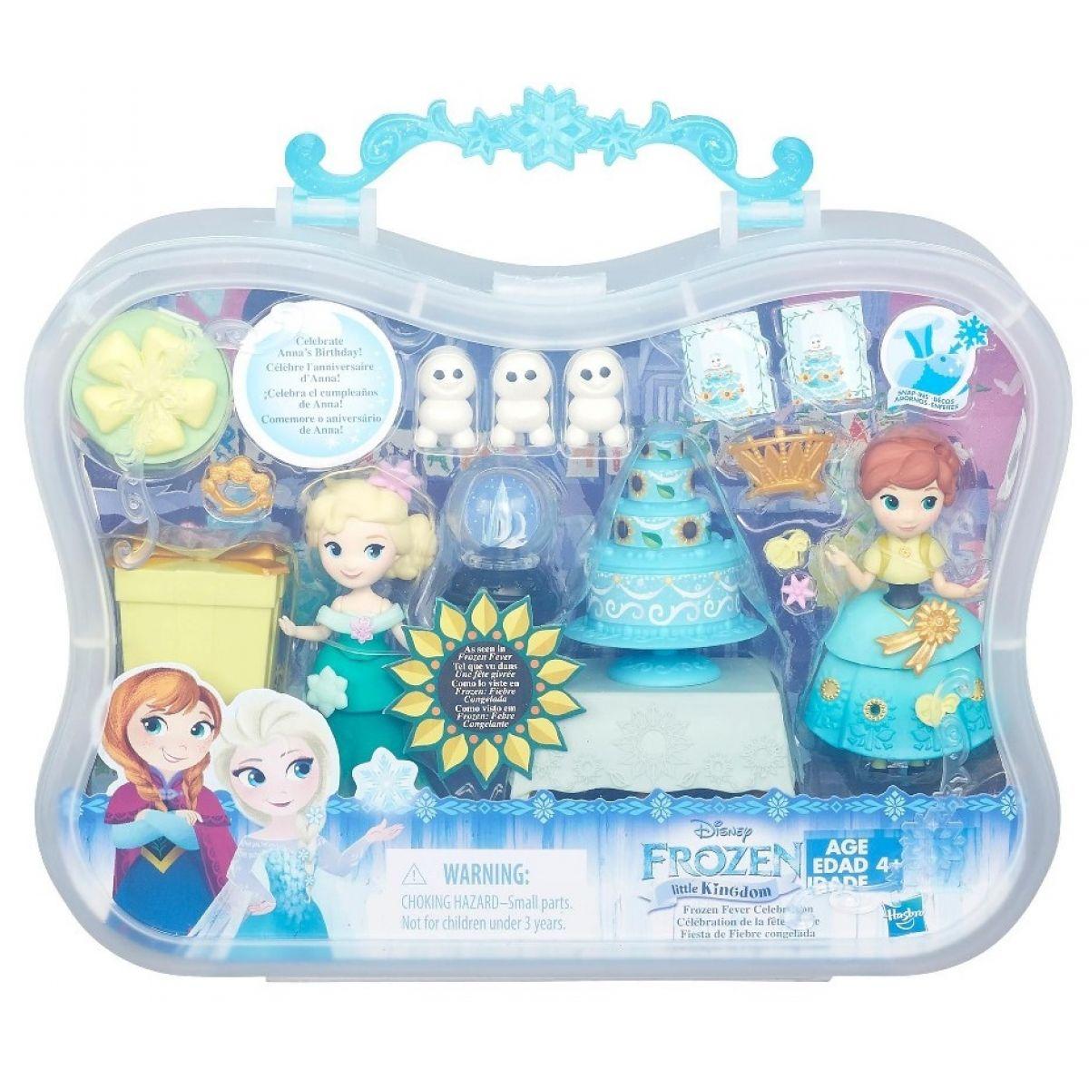 Hasbro Disney Frozen Little Kingdom Set malé panenky s příslušenstvím - Frozen Fever Celebration #2