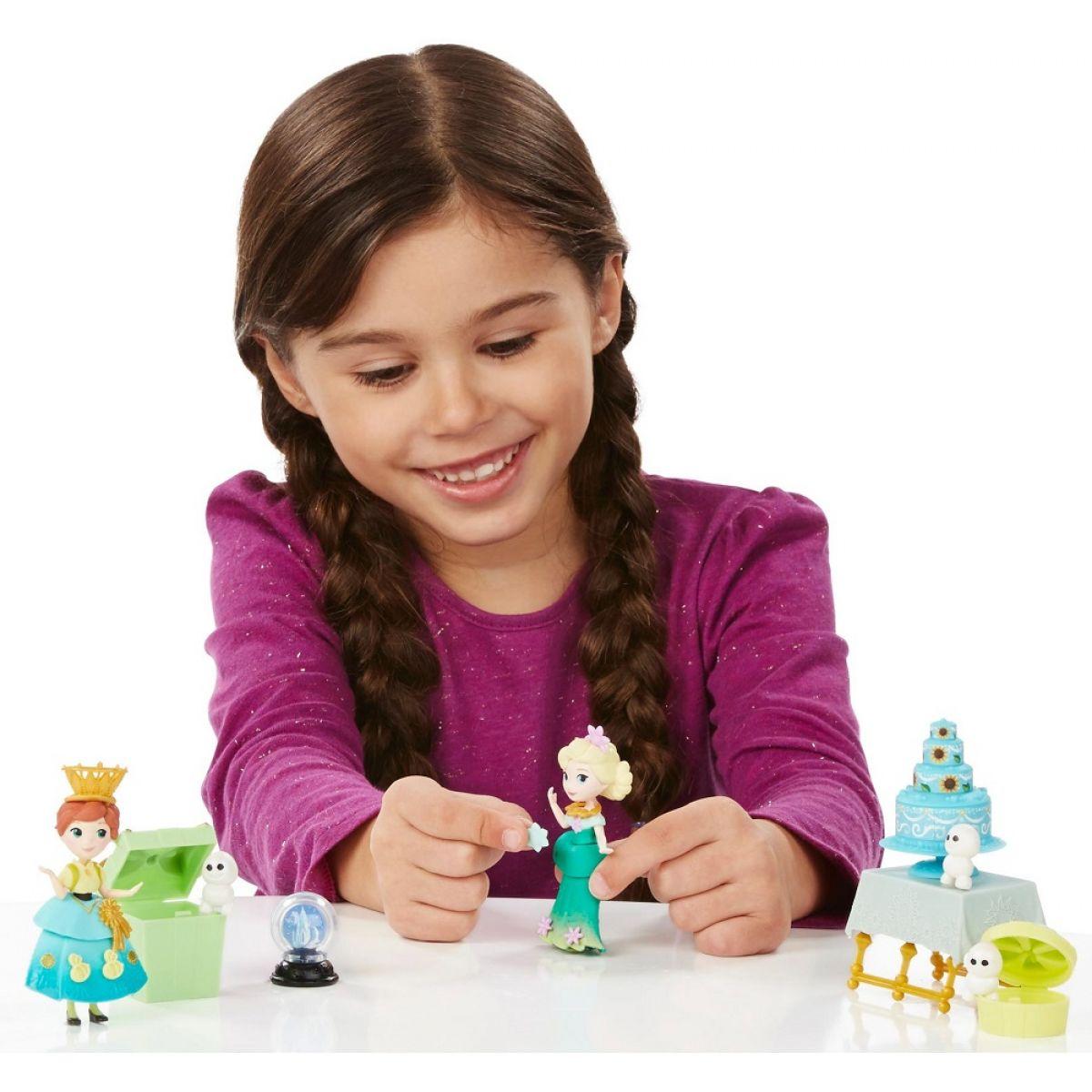 Hasbro Disney Frozen Little Kingdom Set malé panenky s příslušenstvím - Frozen Fever Celebration #3