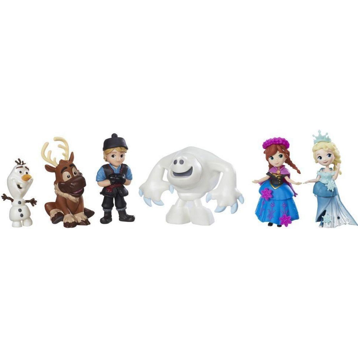 Hasbro Disney Frozen Mini hrací set 6 postav z filmu
