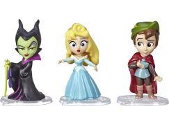 Hasbro Disney Princess Mini princezna trojbalení Aurora, princ Filip a Zloba
