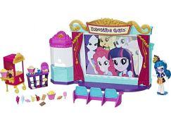 Hasbro Equestria Girls Tematický hrací set kino