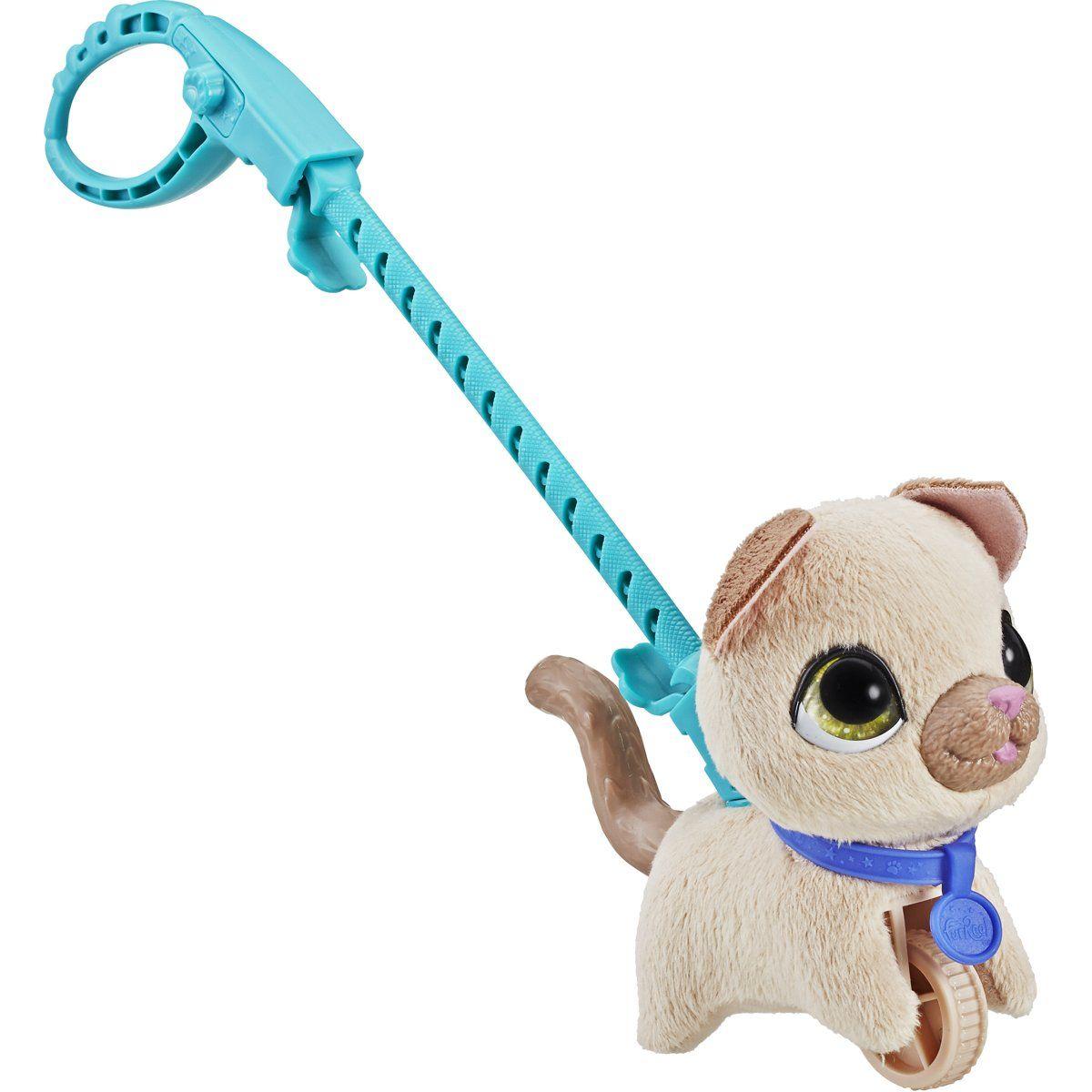 Hasbro Furreal Friends Walkalots malá kočka