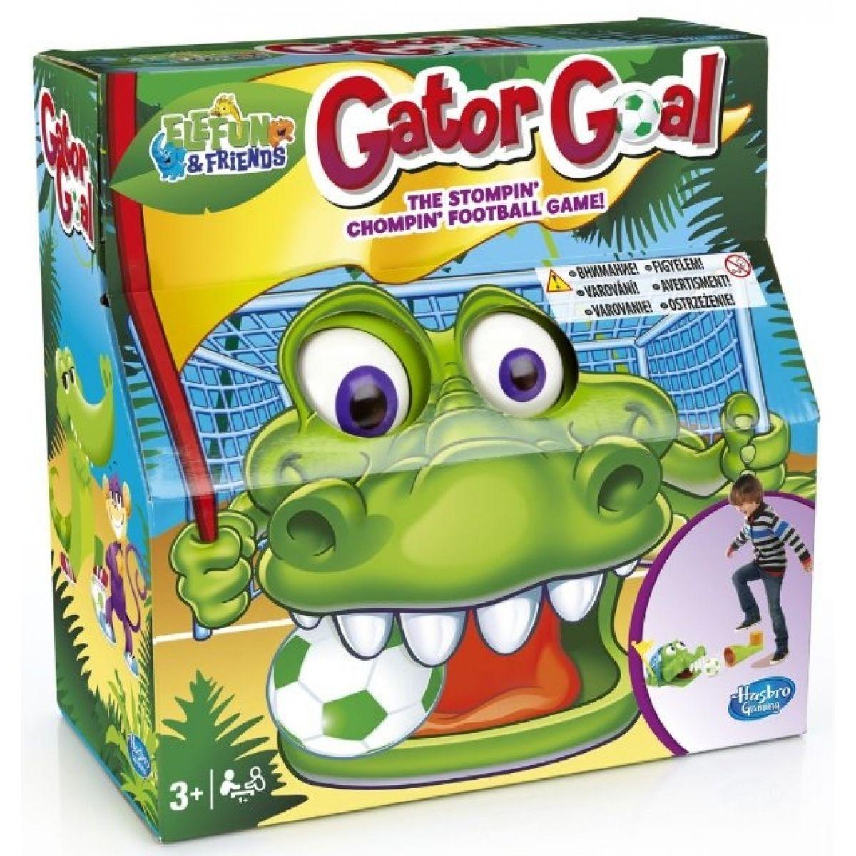 Hasbro Gator goal společenská hra