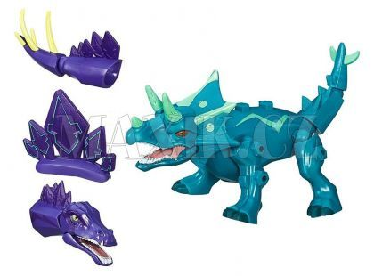 Hasbro Hero Mashers hybridní dinosaurus - Triceratops
