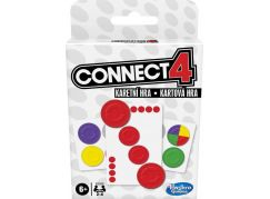 Hasbro Karetní hra Connect 4 CZ-SK verze