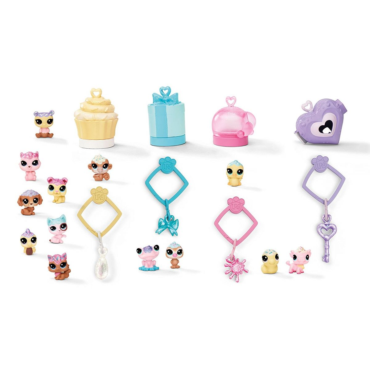 Hasbro Littlest Pet Shop Frosting Frenzy 13ks mini zvířátek