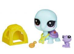 Hasbro Littlest Pet Shop Maminka s miminkem a doplňky Bev Gilturtle 2-112