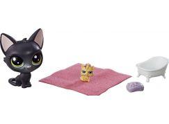 Hasbro Littlest Pet Shop Maminka s miminkem a doplňky Jade Catkin 2-74
