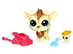 Hasbro Littlest Pet Shop Maminka s miminkem a doplňky Quincy Goatee 2-116