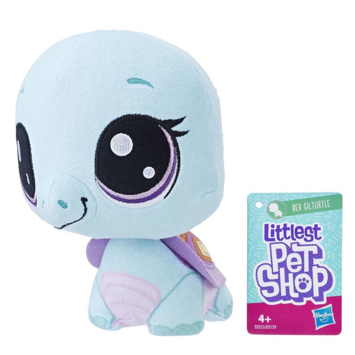 Hasbro Littlest Pet Shop Plyšák s pohyblivou hlavou Bev Gilturtle