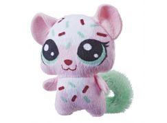 Hasbro Littlest Pet Shop Plyšové zvířatko ukryté v pitíčku zelený