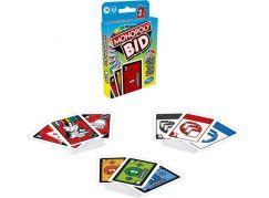 Hasbro Monopoly Bid Karetní Hra