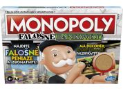 Hasbro Monopoly falešné bankovky SK verze