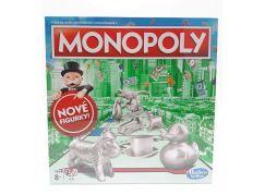 Hasbro Monopoly hra stříbrné figurky