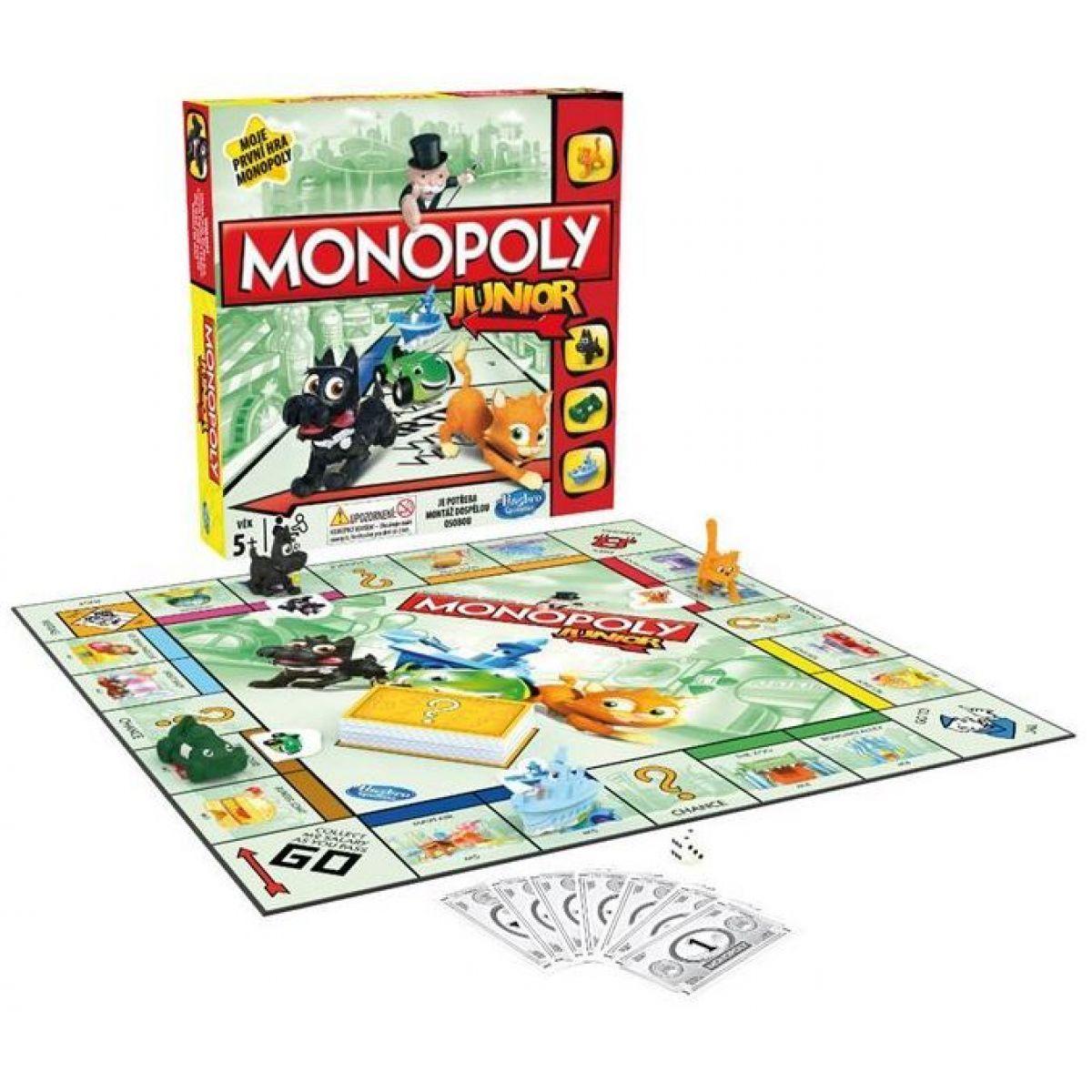 Hasbro Monopoly Junior SK