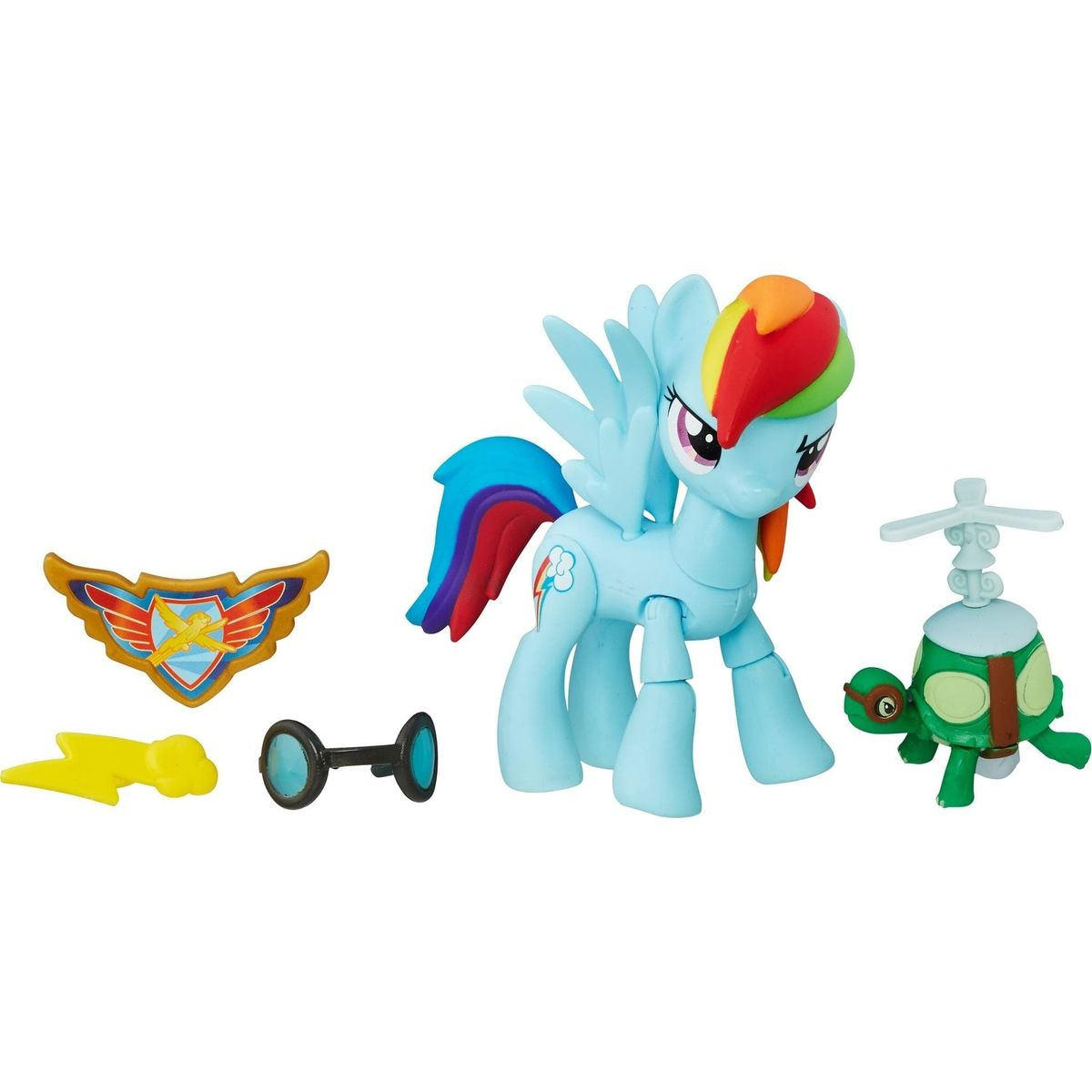 Hasbro My Little Pony Guardians of harmony malí poníci Rainbow Dash