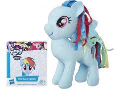 Hasbro My Little Pony plyšový poník s potiskem hřívy 12 cm Rainbow Dash