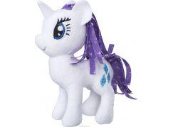 Hasbro My Little Pony plyšový poník s potiskem hřívy 12 cm Rarity