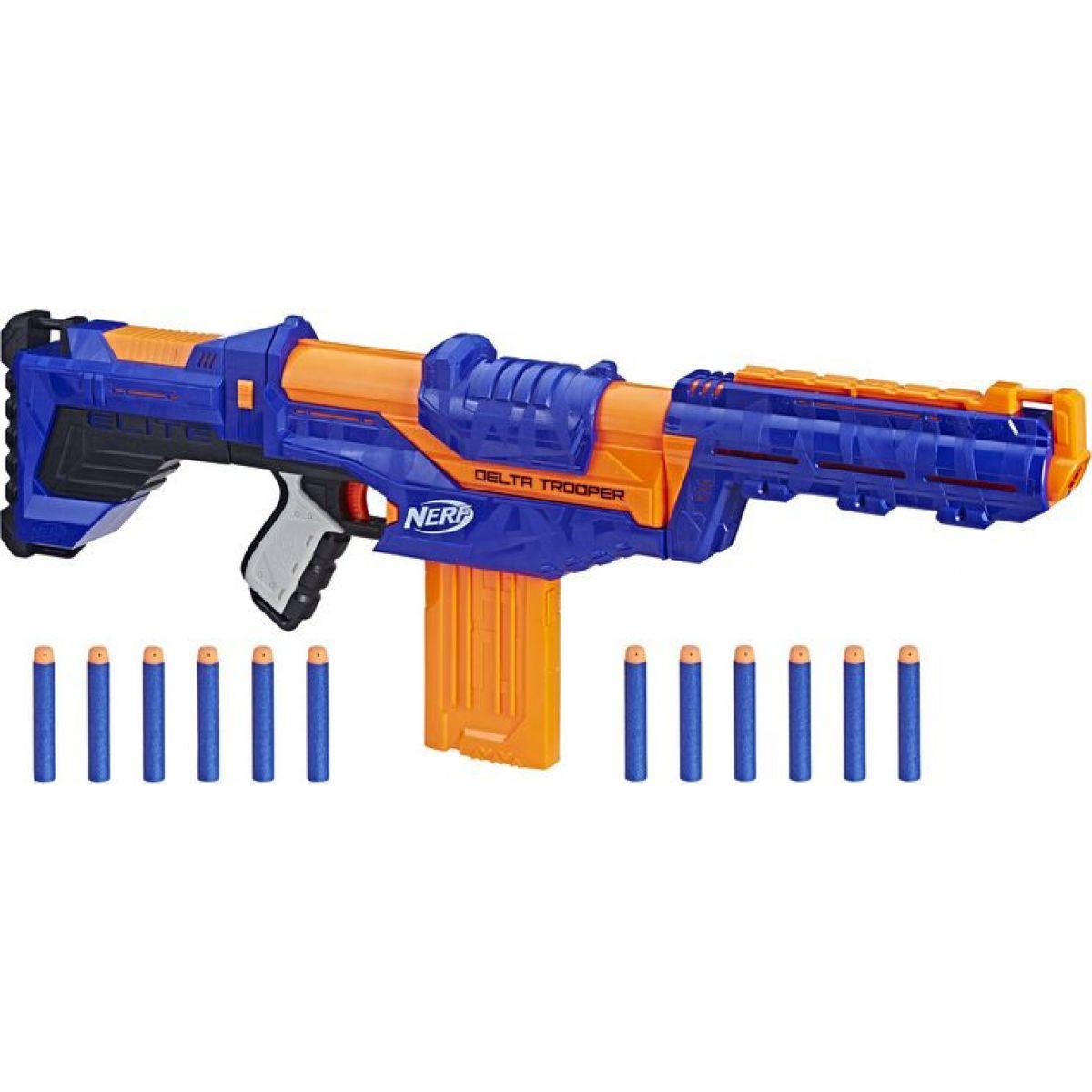 Hasbro Nerf N-Strike Elite Delta Trooper - Poškozený obal