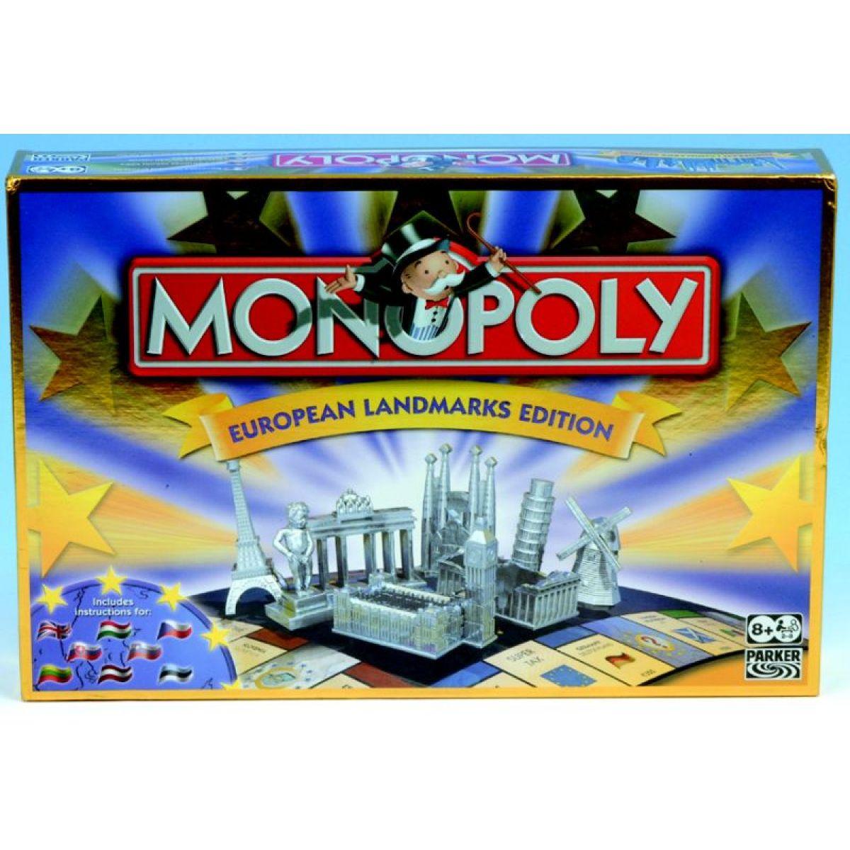 Hasbro Parker Spol. hra - Monopoly evropské