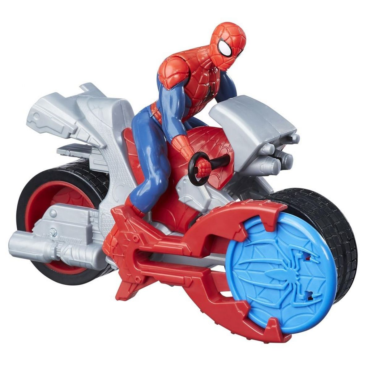 Hasbro Spiderman 15 cm Spiderman na motorce
