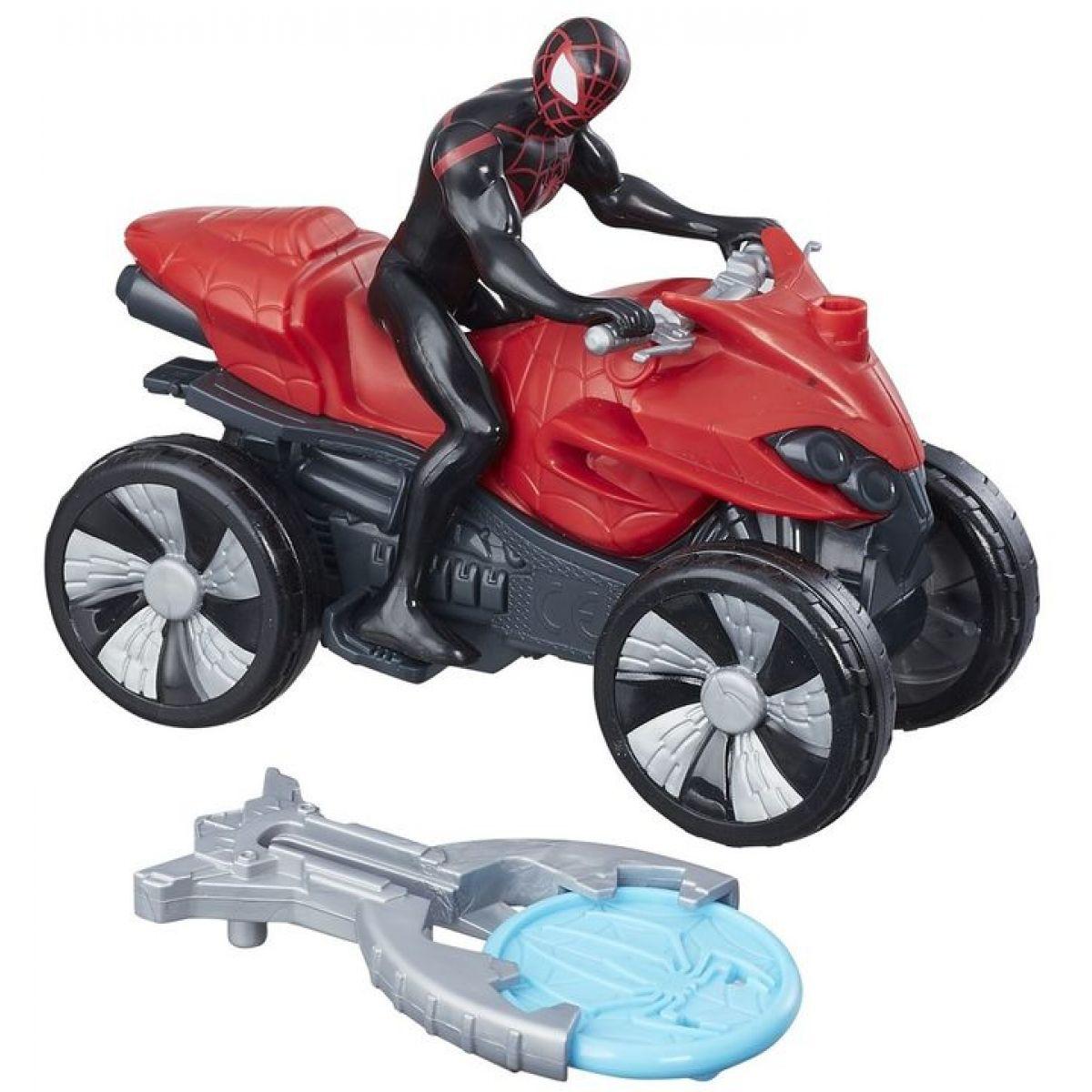 Hasbro Spiderman 15 cm Spiderman na čtyřkolce